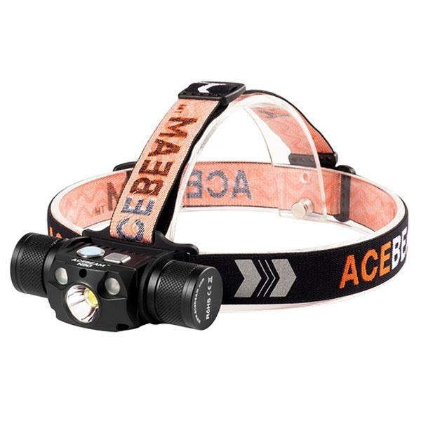 Acebeam H30 XHP70 2 LED Rechargeable Headlamp 4000 Lumens