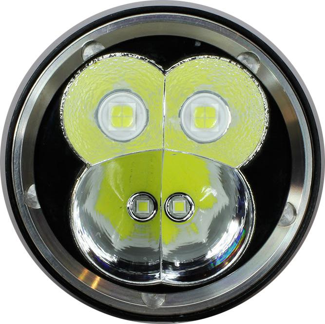 800m throw Niwalker Nova MM18III Rechargeable LED Flashlight-12,000 Lumens