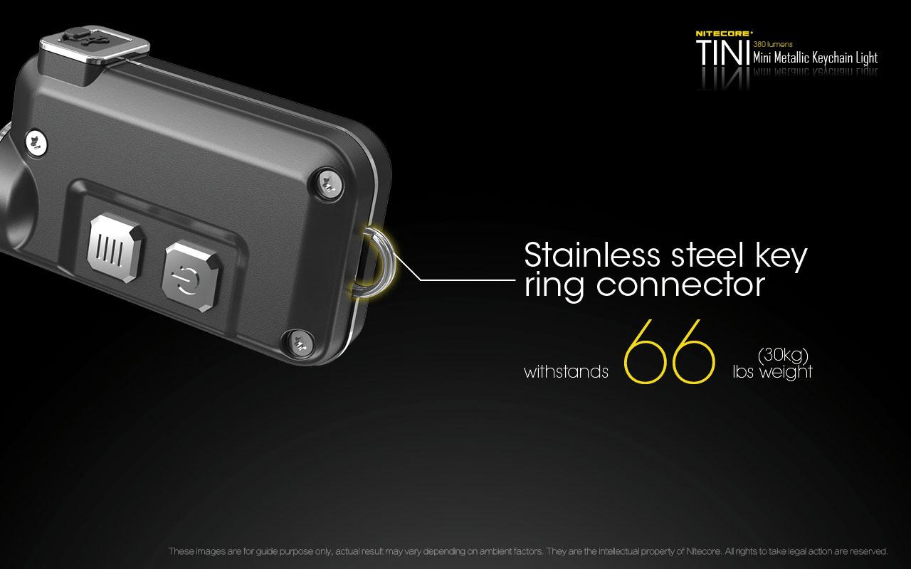 nitecore tini mini metallic micro usb rechargeable keychain light rh andrew amanda com Ford Wiring Harness Kits Automotive Wiring Harness