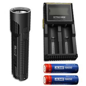 Nitecore EC4 1000 Lumen Flashlight -2x Jetbeam 3400mAh